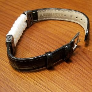 Jewelry - Leather and pearl bracelet